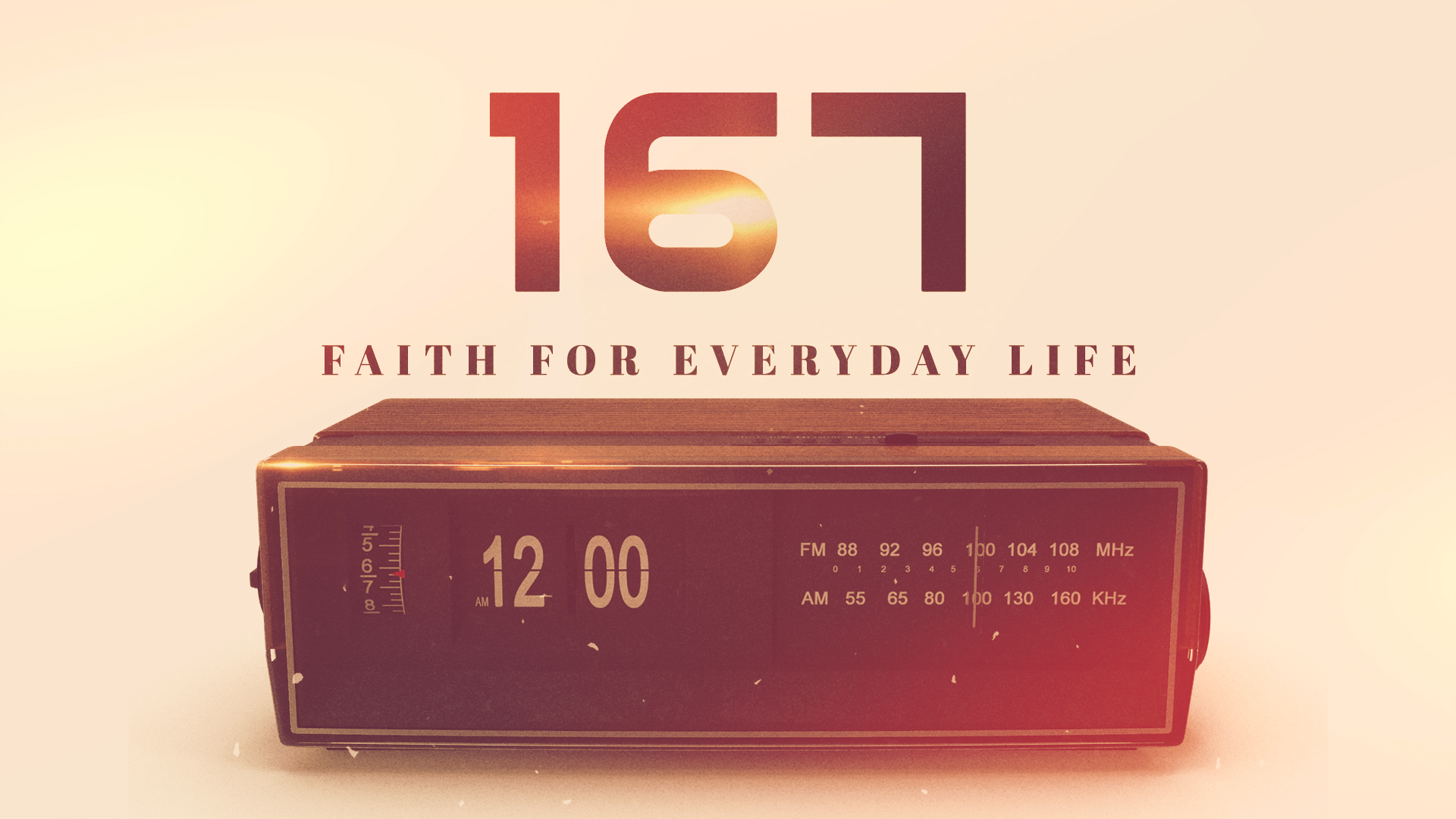 167: Faith for Everyday Life - Part 1 - SAR